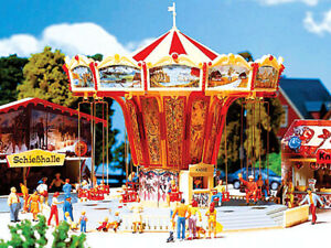 Faller HO Scale Building/Structure Kit Chairoplane Swing Carnival/Fair Ride