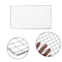 Stainless Steel BBQ Grill Grate Grid Wire Mesh Rack Net Cooking Replacement T6G2