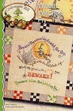 WHEN WITCHES FLY EMBROIDERY PATTERN From Crabapple Hill Studio NEW