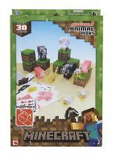 MINECRAFT PAPER CRAFT 30 PIECE CREATE YOUR OWN MINECRAFT WORLD ART KIDS ANIMAL