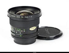 * Lens Canon FD 4/17mm  No.22890 Mint