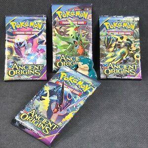 4 x Pokemon XY Ancient Origins *Sealed* Booster Packs - Pack Art Set - English