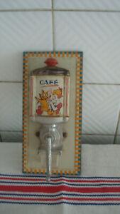 Moulin à café mural de dînette jouet ancien 2225nv19