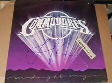Lionel Richie Signed Commodores Autograph proof coa d