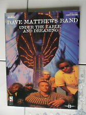Dave Matthews Band Under The Table And Dreaming Guitar Tab Rock Music Song Book