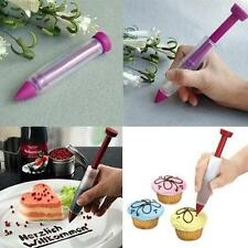 Silicone Cake Cream Pen Chocolate Fondant Icing Decorating Art Pen Writing Tool