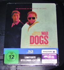 WAR DOGS  LIMITIERTE STEELBOOK EDITION BLU RAY NEU SCHNELLER VERSAND & OVP