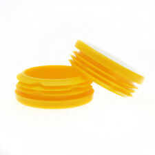 Pack Of 25 47.7mm Yellow Scaffolding Inserts, Round Scaffold Caps, Push Fitting