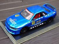 RARE 1/18 Jada Nissan Skyline GTR R32 Adjustable Stance Suspension Toy Car Neon