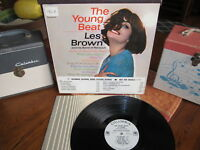 LES BROWN Rare WLP Vinyl Lp THE YOUNG BEAT! 1964 Columbia Stunning!
