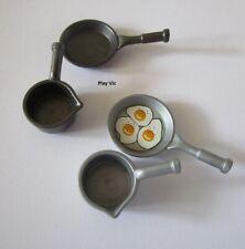 Playmobil Casserole Poêle Pan Cuisine Kitchen couleur au choix - choose color