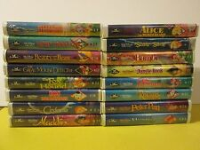 Beauty and the Beast VHS Walt Disney Black Diamond Classic RARE Lot Of 16 Movies