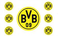 BVB Borussia Dortmund  7 Aufkleber Sticker 5,5 cm + 2 cm  Fussball Bundesliga