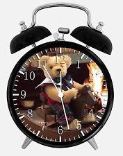 Ours en Peluche Alarme Horloge de Bureau 9.5cm Maison ou Décoration E141 Nice