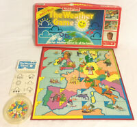 The Weather Game Board Game 1986 Waddingtons Wincey Willis Very Rare