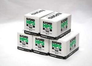 Ilford HP5 Plus 35mm 400 ISO Black & White Camera Film 36 exposure  PACK OF 5