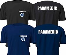 NEW PARAMEDIC DUTY T SHIRT SIZE S-4XL