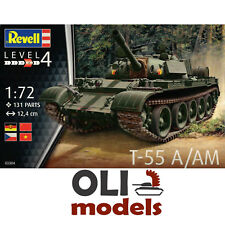 1/72 Soviet T-55 A/T-55 AM Main Battle Tank  - Revell 03304