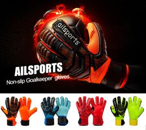 Profesional Guantes de Portero de Protección de Dedo Engrosada Fútbol Nuevo