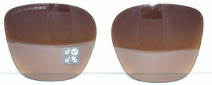 Brand New Authentic Oakley Side Swept Replacement Lens Brown Gradient Polarized