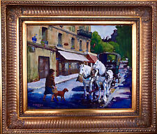 Clarence Weiss (American Impressionist) Plein Aire Oil on Board