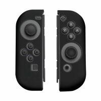 Silicone Cover Skins Antislip Case for Nintendo Switch Joy-Con Controller Black