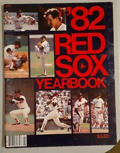 1982 Boston Red Sox Baseball Yearbook