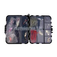 35 Pcs Fishing Lure Tackle Set Kit with Box for River Lake Fresh/Salt Water