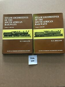 Steam Locomotives Of The South African Railways Volume 1 And 2 Hardback Book