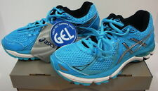 Asics Gel GT 2000 3 Running Shoes Turquoise Blue Black Silver Women's New 6 M