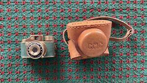 Vintage CMC Mini Spy Camera with original leather Case