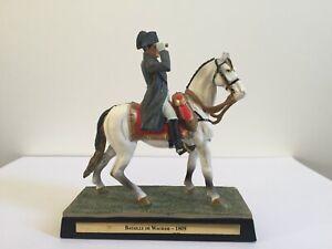 NAPOLEON BONAPARTE EMPEROR HORSE SOLDIER STATUE SCULPTURE FIGURINE BUST FRANCE