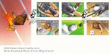 L5624sbs New Zealand First Day Cover 2000 Olympic Sporting Pursuits