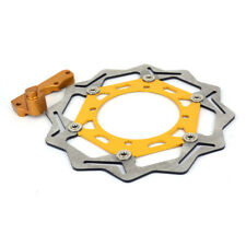 Floating Front Brake Disc Rotor Bracket For Suzuki RMZ RMZ250 RMZ450 RMX450 Gold