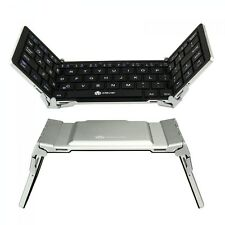 Tri-Folding Portable Wireless Bluetooth Keyboard For Tablet iPhone iPad Android