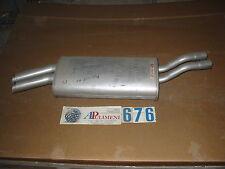 195707 MARMITTA TERMINALE( MUFFLER /AUSPUFF )BMW 320I-325I 4X4  CABRIO E30 85>87