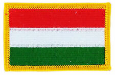 FLAG PATCH HUNGARY HUNGARIAN FRENCH IRON ON COUNTRY EMBROIDERED WORLD FLAG