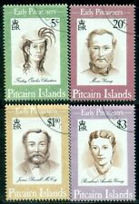 PITCAIRN ISLANDS 399-402 SG446-49 Used 1994 Early Pitcairners set of 4 SCV$7