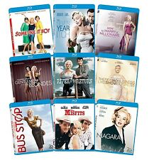 Marilyn Monroe: Classic 9 Film Collection [Blu-ray] (2013) BRAND NEW