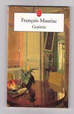 Genitrix - Francois Mauriac .Livre de poche intégral . Bon état. Valloton couver