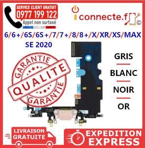NAPPE CONNECTEUR DE CHARGE + JACK MICRO IPHONE/6/8/7/6S/PLUS X/XR/XS/MAX