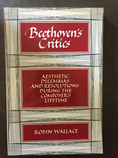 Beethoven's critics par Robin Wallace - 1986 - Cambridge university press