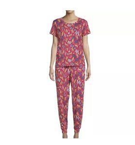 Secret Treasures Women's Size Plus 3X 22W-24W Pajama  Set Red NWT