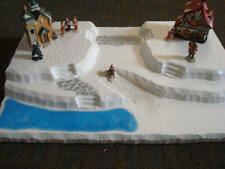 Christmas Village Display Base Platform J17 Dept 56 Lemax Dickens Snow Village