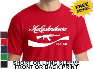 2nd Amendment Kalashnikova Kalashnikov AK-47 Mens Short Or Long Sleeve T Shirt