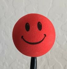 Red Smiley Face Antenna Ball Topper New