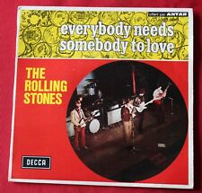 Rolling Stones, everybody needs somebody to love, SP - 45 tours France