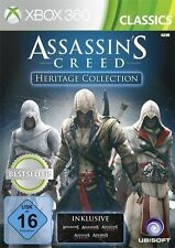 Xbox 360 juego figuras assassins creed heritage Collection 1+2+3+ Brotherhood + Revelations