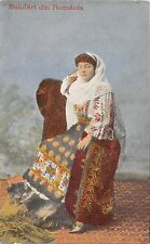 B78216 types folklore costumes woman femeie port popular   romania