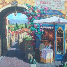 jigsaw puzzle 1500 pc Antico Martini Italian Village Mega Brands